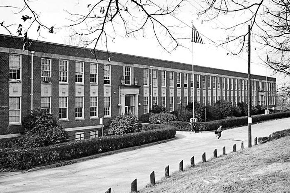 James A. Gray High School Building (1965-66). Photo: UNCSA Archives