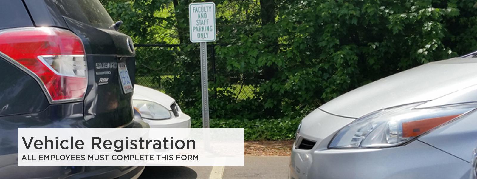 Employee Vehicle Registration