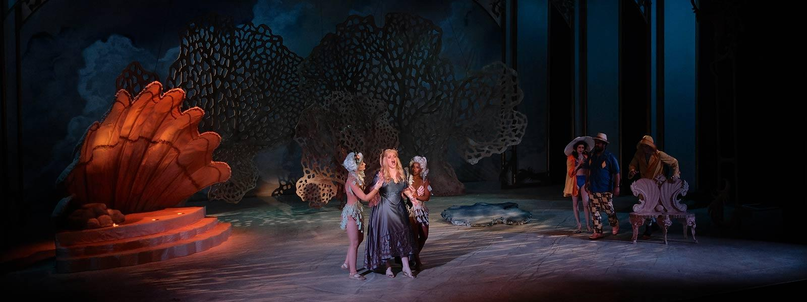 Ariadne Auf Naxos / Photo: G. Allen Aycock