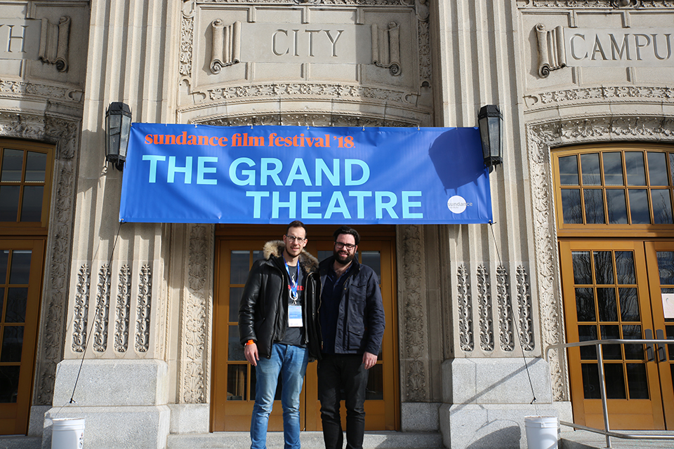 Abe and Brett at Sundance