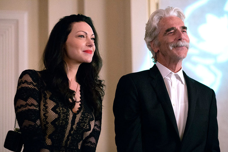 "Laura Prepon and Sam Elliott in ""The Hero"""