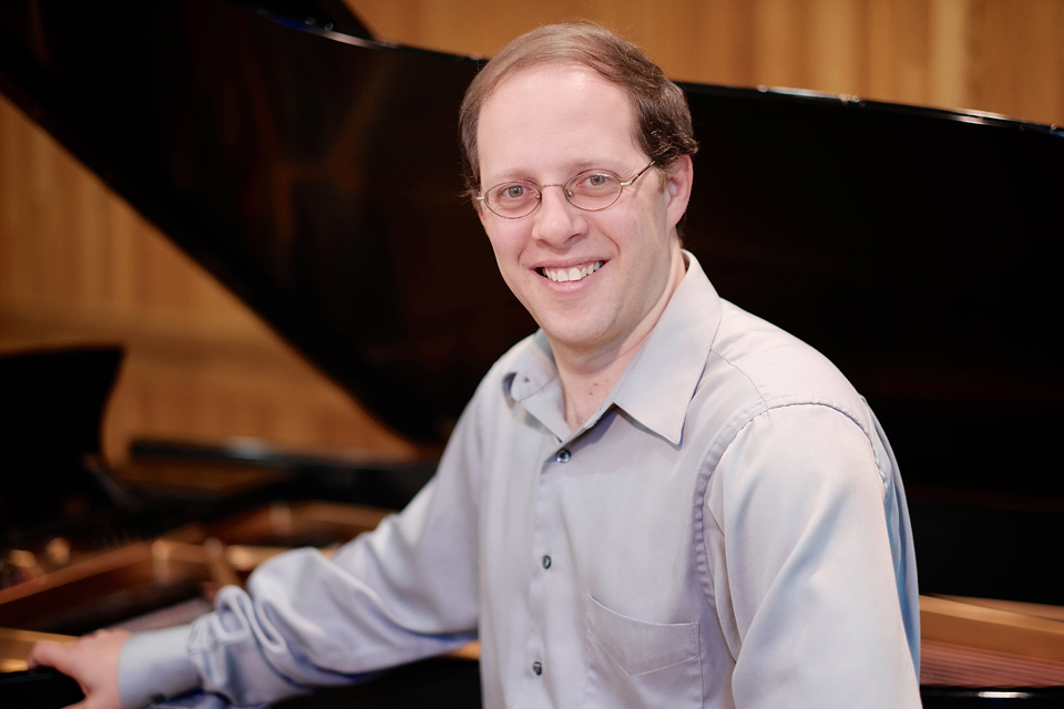 Dmitri Shteinberg is the Clifton Matthews Distinguished Professor of Piano