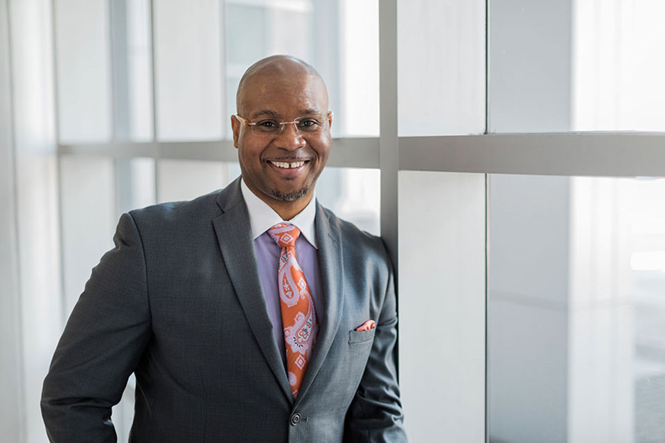 Patrick Sims has been named provost at UNCSA