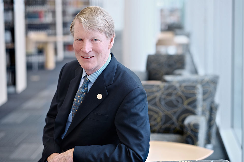 Board of Trustees Chair Ralph Womble will lead the search committee for UNCSA's next chancellor.