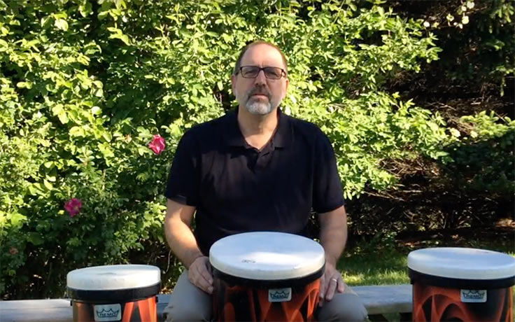 John Beck drumming demonstration