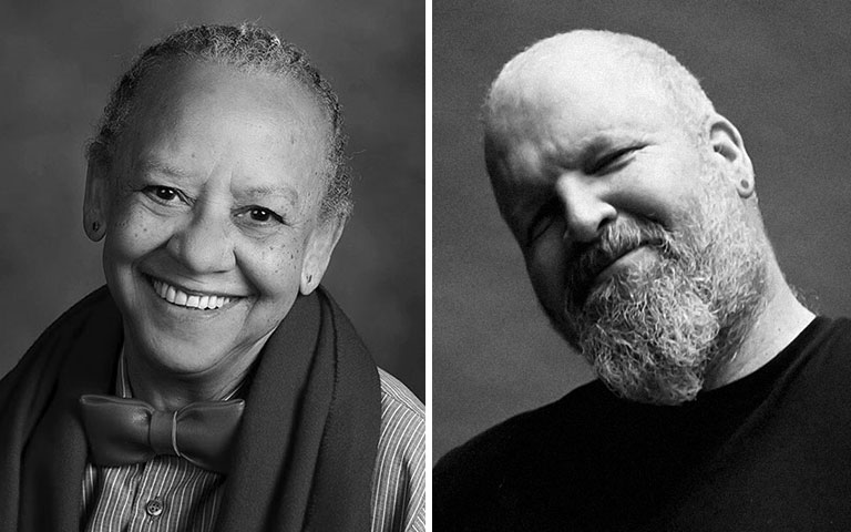 Nikki Giovanni and Chris Wells