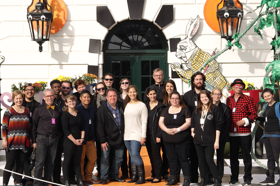 UNCSA brings storybook magic to the White House