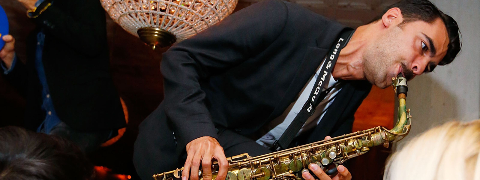 Saxophonist alumnus plays in The Late Show with Stephen