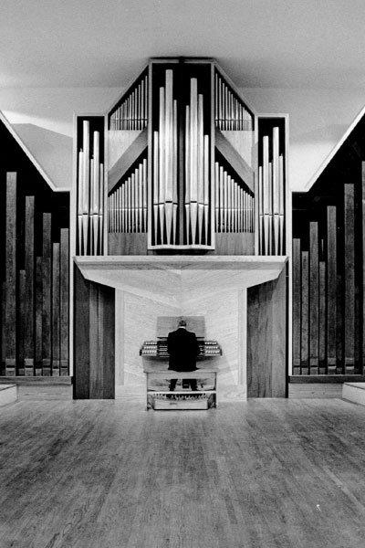 Crawford Hall Fisk Organ