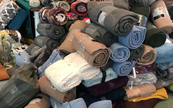 collected blankets