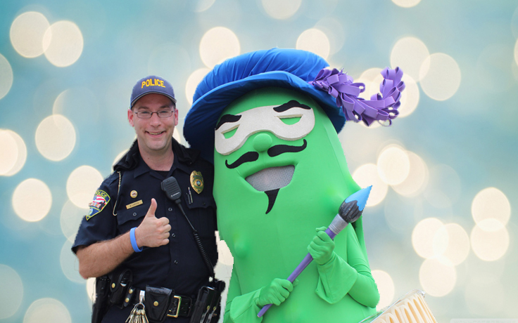 Police with Pickle