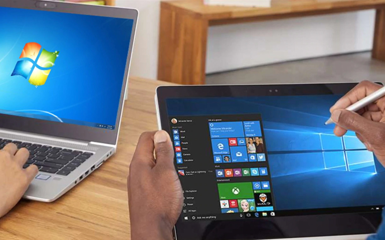 Devices with Windows operating systems