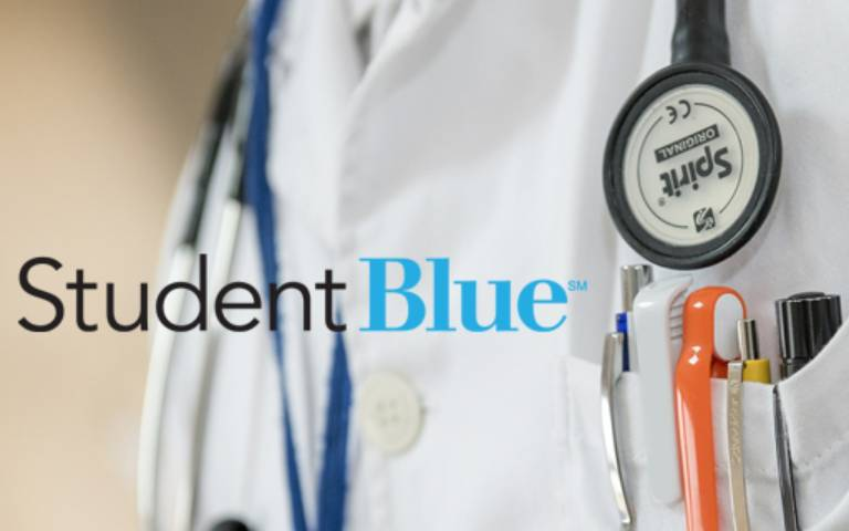 Doctor and Student Blue logo