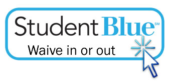 Waive in or out of Student Blue Cross from Blue Shiield of North Carolina