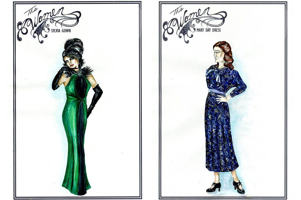 Costume designs by Michelle Pflug