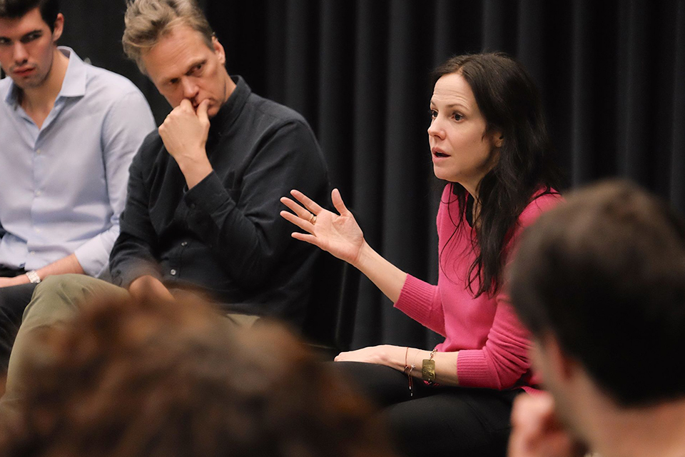 Mary-Louise Parker and Peter Hedges