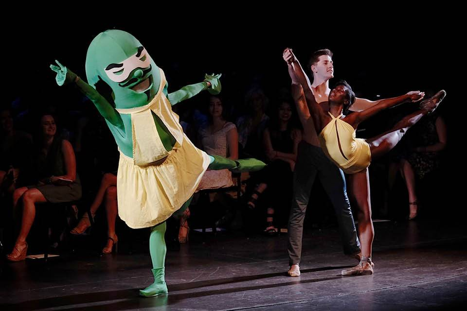Pickle dances at Commencement