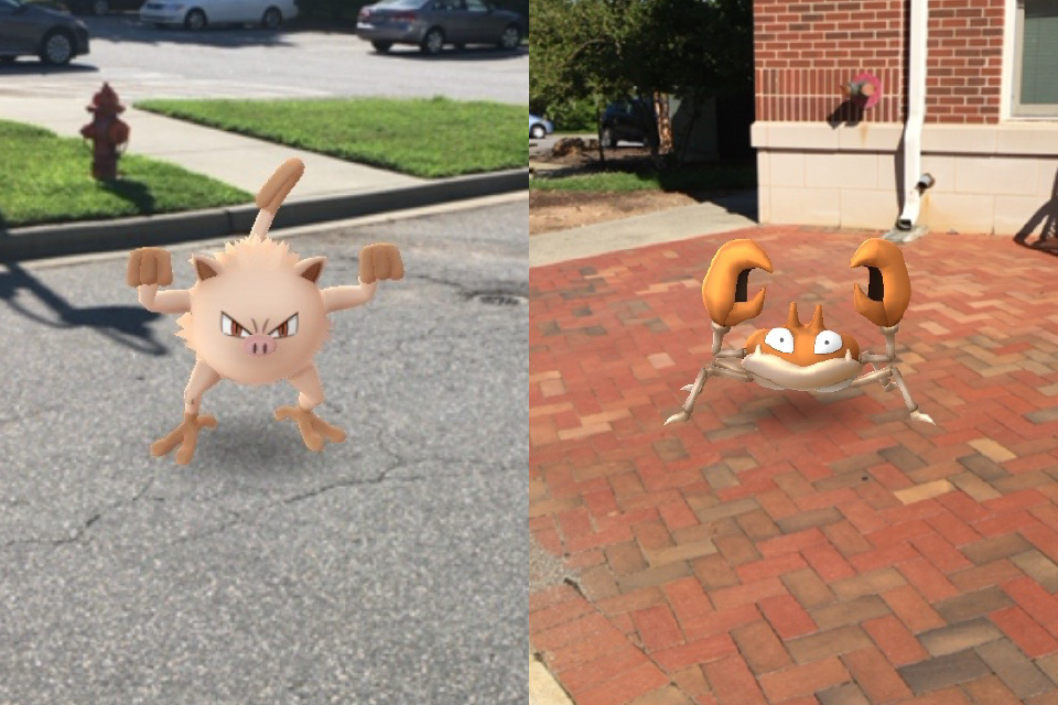 Pokémon Go at UNCSA