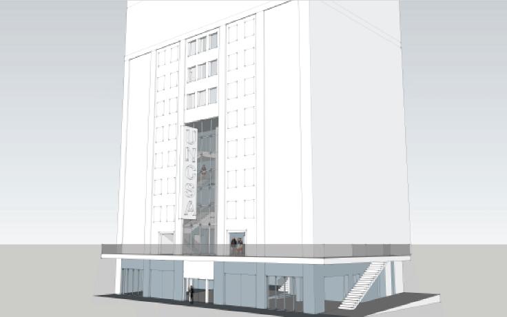 Stevens Center design