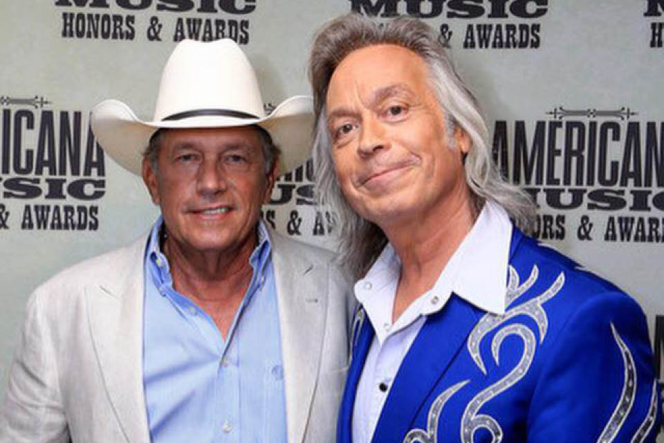 George Strait and Jim Lauderdale