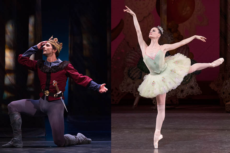 Nutcracker guest artists Martin Harvey and Megan LeCrone