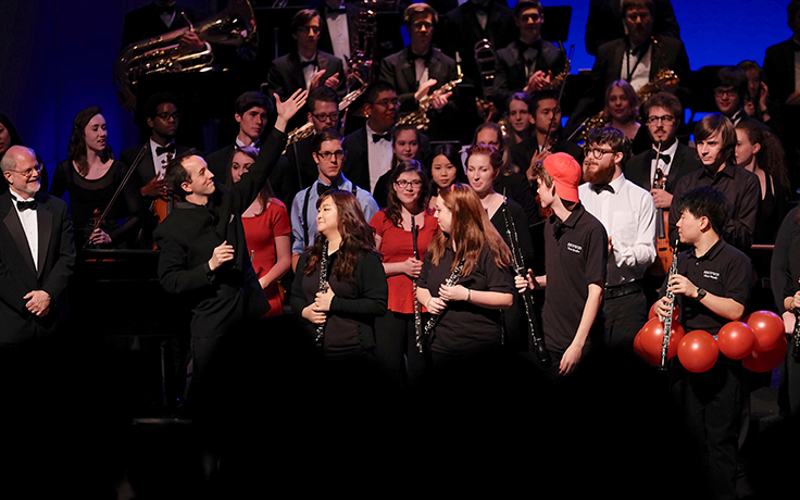 Second annual Collage Concert presents a colorful canvas of UNCSA musical talent
