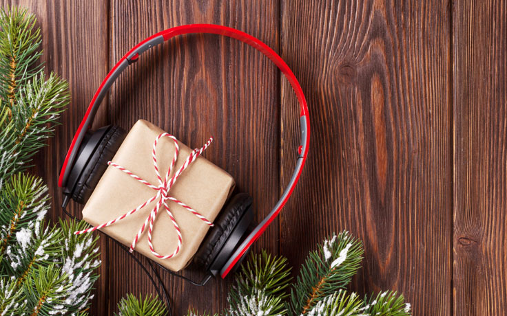 Christmas headphones