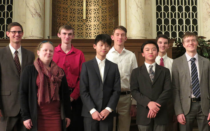 UNCSA students win first and second prize in 6th annual High School Organ Festival and Competition