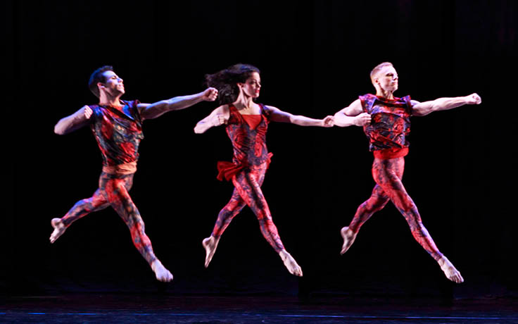 UNCSA Winter Dance Concert introduces contemporary Spanish choreographer