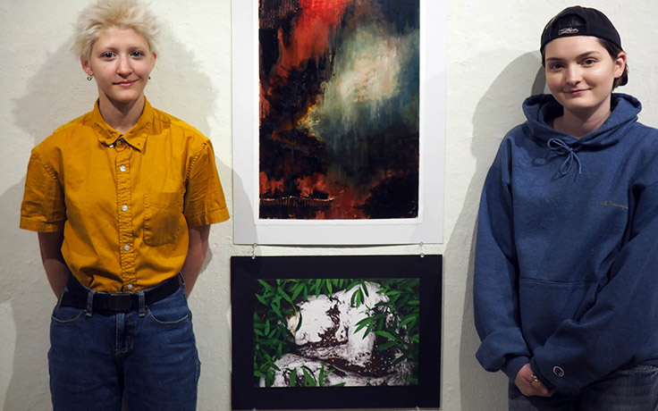 Two UNCSA visual artists win national awards in Scholastic Arts competition