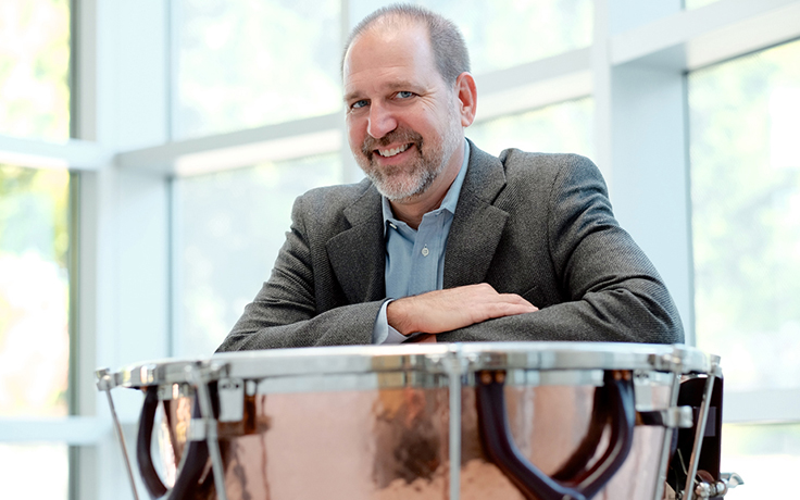 John Beck receives Ford Musicians Award for therapeutic group drumming