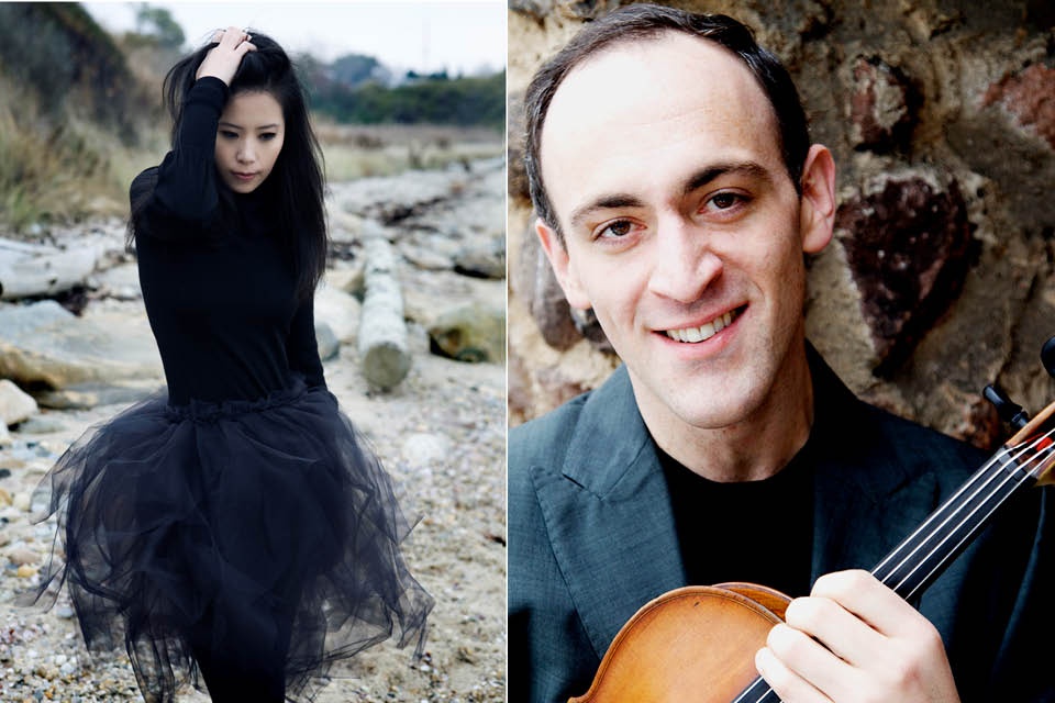 Gloria Chien and Mark Holloway