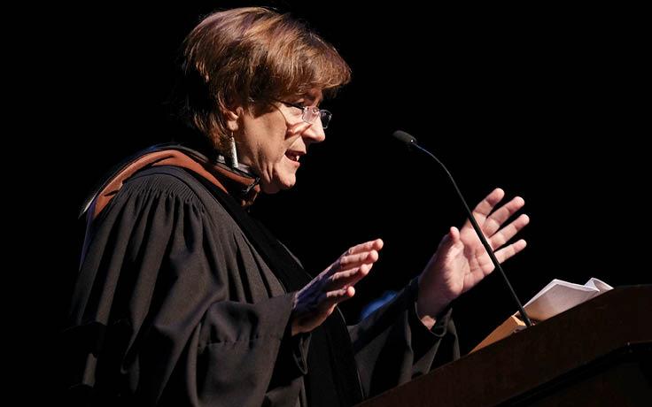 Disney executive advises graduates to reject fear and embrace failure