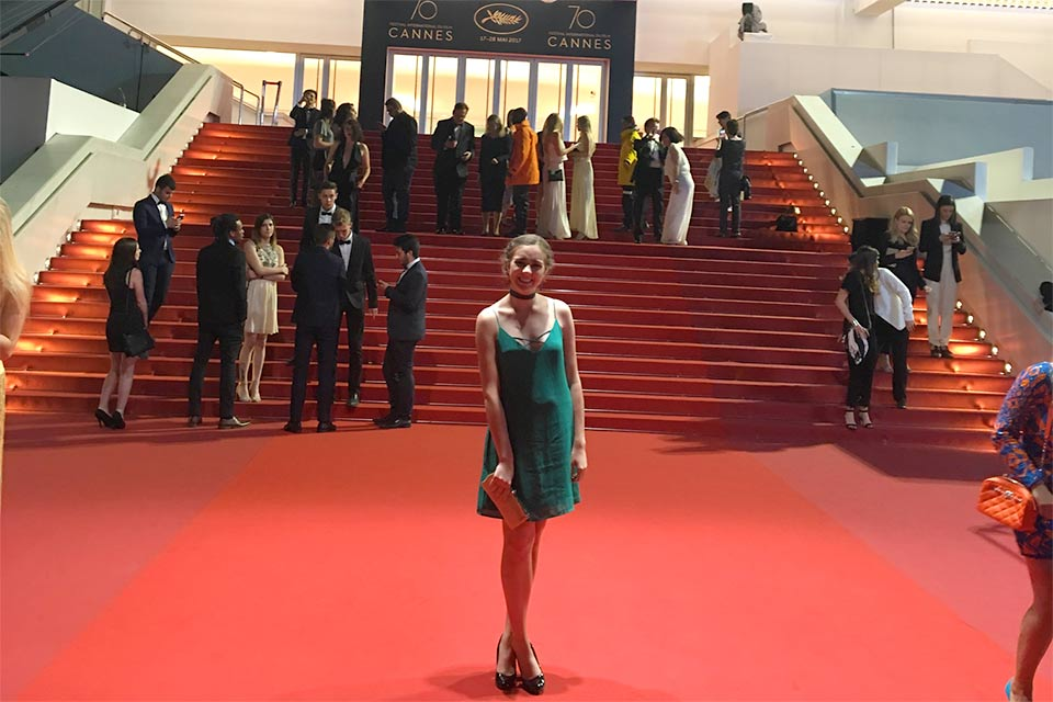 Thatcher Welden-Johnson at Cannes Film Festival 2017.