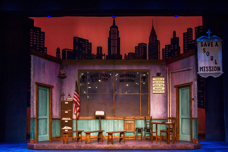 Mission set for Guys and Dolls