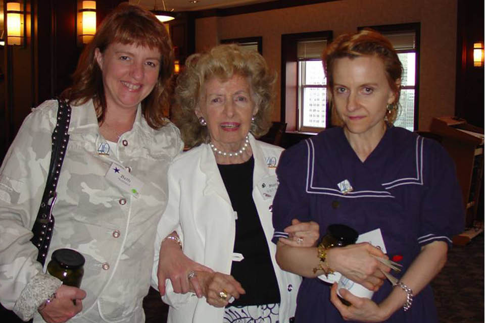 Beth Hubbard, Mary Semans and Jenny Koortbojian