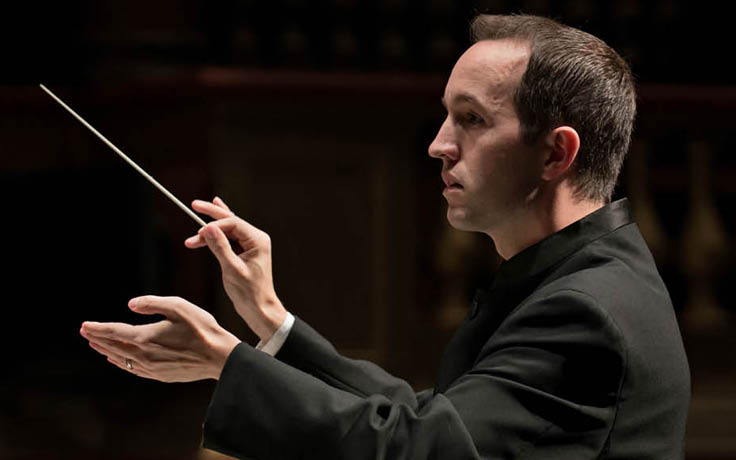 Symphony Orchestra Music Director Christopher James Less will leave UNCSA