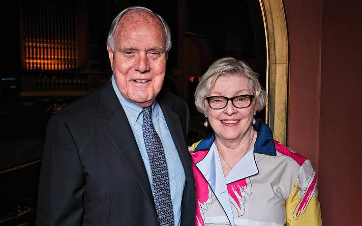 Doug and Carolyn Bailey receive Giannini Society Award