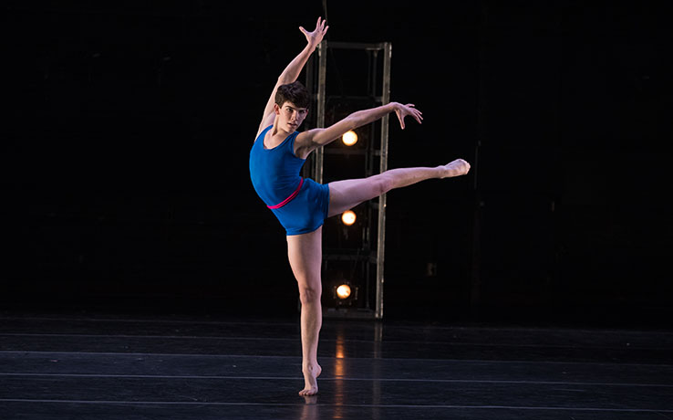 All-contemporary Fall Dance Concert features two premieres from School of Dance alumni