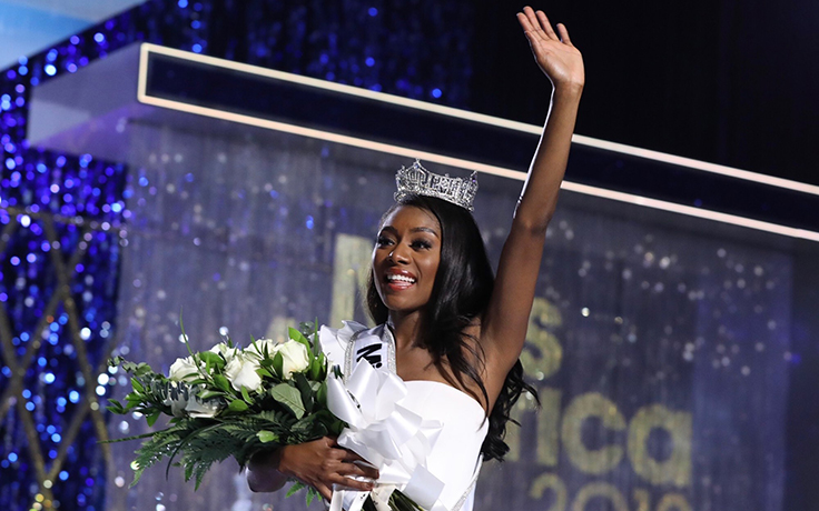 Alumna Nia Imani Franklin is Miss America