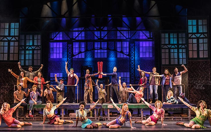 Broadway National Tour of Kinky Boots comes to Winston-Salem's Stevens Center