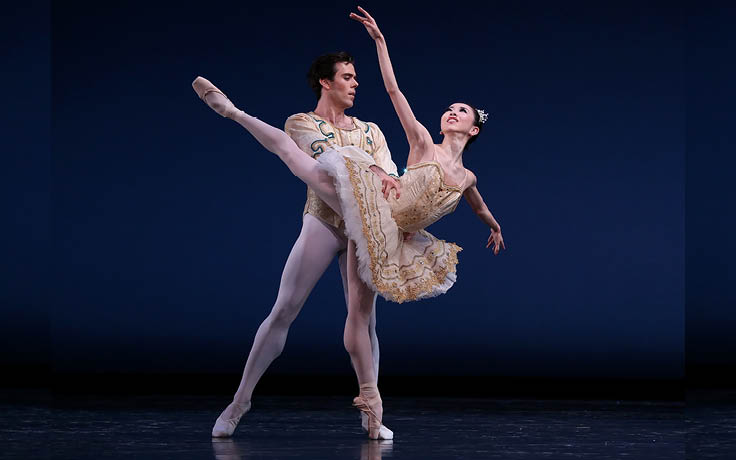 Nutcracker to feature acclaimed guest dancers Yuriko Kajiya and Connor Walsh
