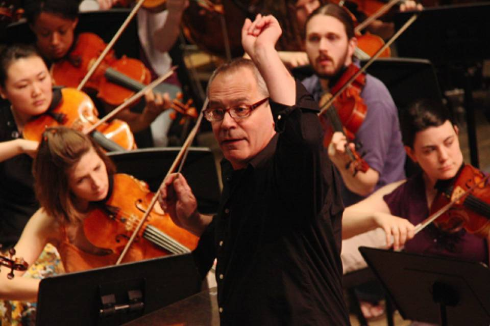 Mark Gibson will conduct the UNCSA Symphony Orchestra on Nov. 23, 2019