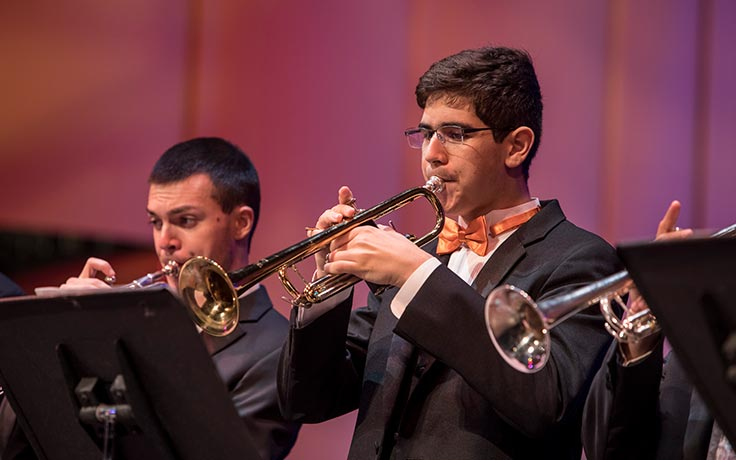 UNCSA Wind Ensemble presents rousing circus-themed concert