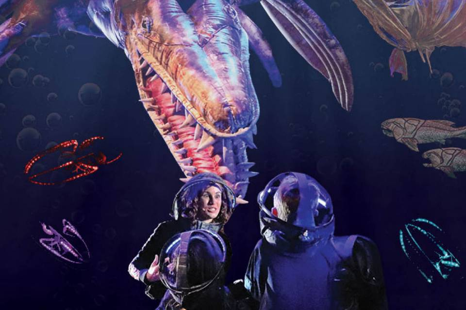 Erth's Prehistoric Aquarium Adventure will be at the Stevens Center on March 29, 2020