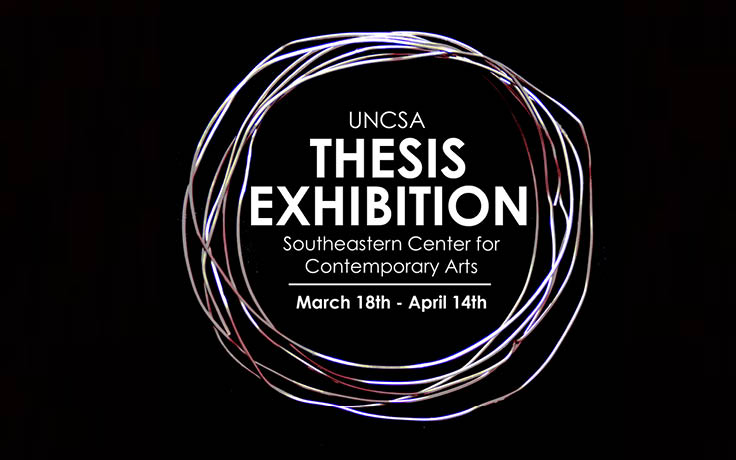 Visual Artists' thesis projects are on exhibit at SECCA