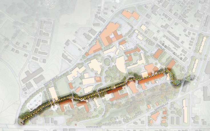 Gifts allow UNCSA to move forward with plans for Arts Walk
