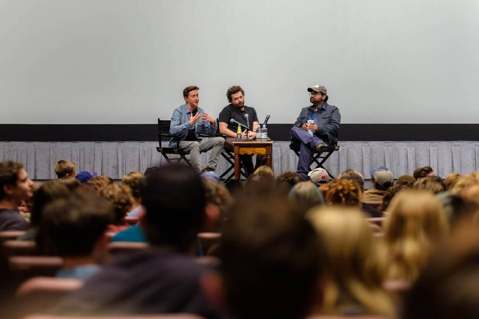Alumni including David Gordon Green, Danny McBride and Jeff Fradley are frequest guest artists in the UNCSA film school
