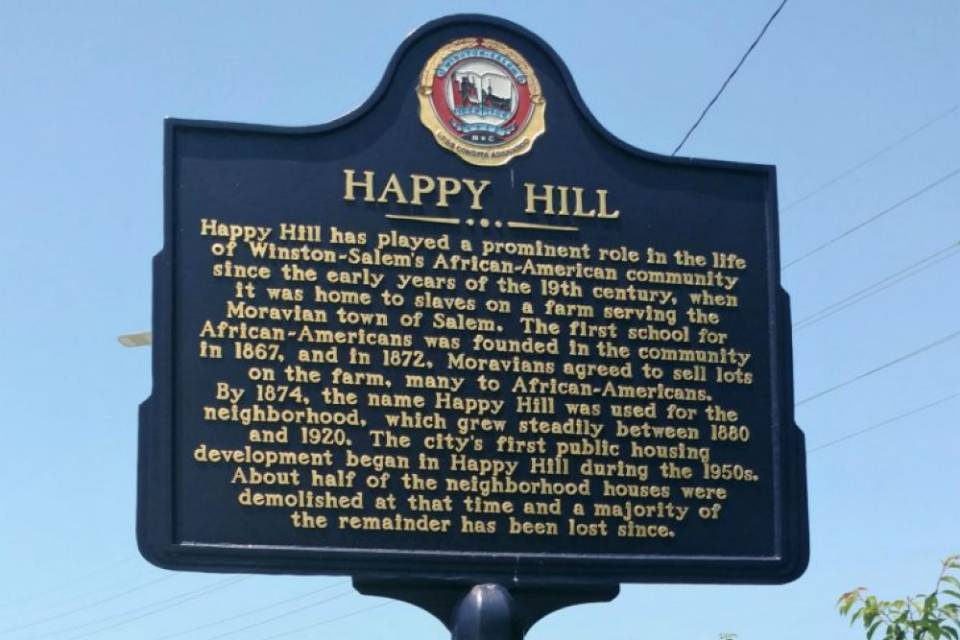 An Our Town grant from the NEA will fund Happy Hill Cultural Restoration project.