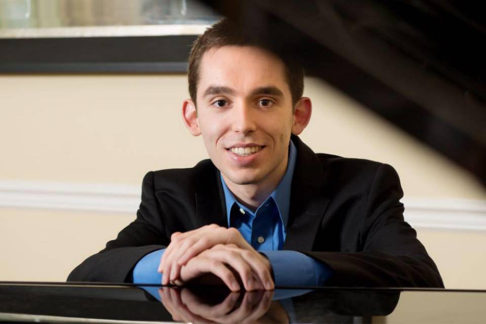Peter Smith is winner of the UNCSA Concerto Competition